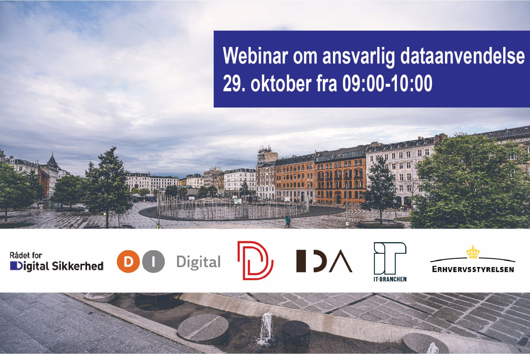 Webinar om ansvarlig dataanvendelse 29 oktober 2021